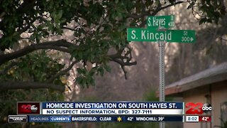 Homicide investigation on South Hayes St.