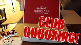 2019 Hallmark Keepsake Ornament Club Unboxing