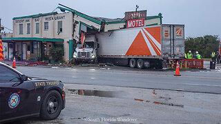 Desert Inn and Restaurant crash scene 12/22/19
