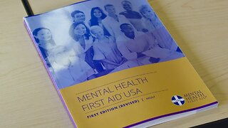 You Can Learn Specialized First Aid To Better Address Mental Health
