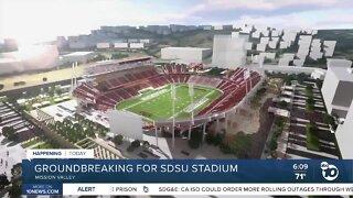SDSU breaking ground on stadium