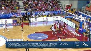 Cade Cunningham affirms commitment to Oklahoma State despite NCAA's postseason ban