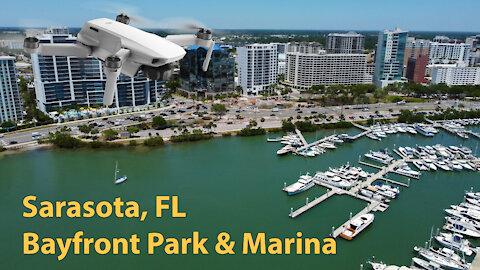 Sarasota Bayfront Park and Marina, FL