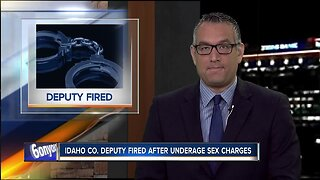 Idaho County deputy fired, arrested on multiple sex charges