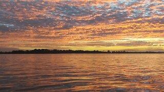 Beautiful Sunset At Bribie Island