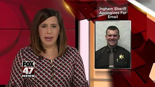 Sheriff apologizes for using county-funded email in campaign
