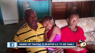 Marine veteran fighting to re-enter U.S. to see family