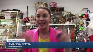 Delray Beach fashion designer giving back to the community