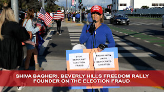 Beverly Hills Freedom Rally Organizer Speaks Out on Rampant Election Fraud