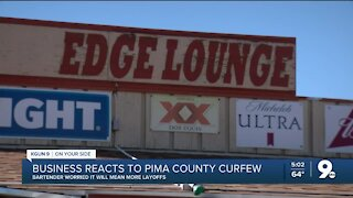 Business reacts to curfew
