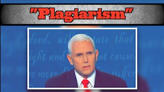 Pence Slams Biden's Covid Plan As Plagiarism