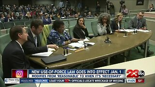 New use-of-force law goes into effect January 1st
