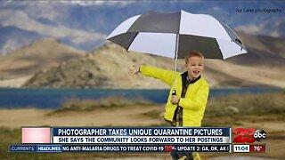 Photographer takes unique daily quarantine pictures