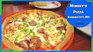 Minsky's Pizza   Kansas City Missouri   What's for Dinner