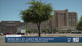 Will St. Luke's Medical Center ever be activated?