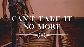 CAN'T TAKE IT NO MORE - Blues Instrumental Music, Piano Music, Blues Music, Blues Guitar, Blues