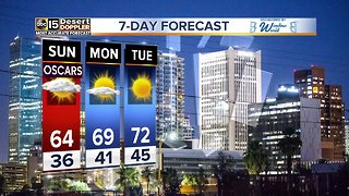 Chilly weekend ahead for the Valley