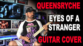 Queensryche Eyes of a Stranger Guitar Cover