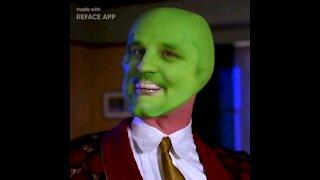 Ironmanduck becomes the mask