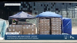 Feeding Muskogee 2020: Food drive helps families affected by pandemic