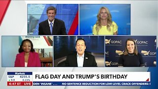 Flag Day and Trump's Birthday