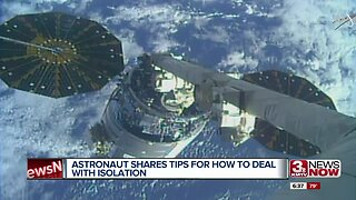 Astronaut shares tips for how to deal with isolation