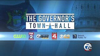 WATCH: 'The Governor's Town Hall' with Gov. Whitmer answering coronavirus questions