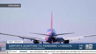 Airports adapting to pandemic changes