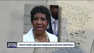 Fight over Aretha Franklin's estate deepens