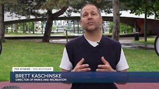Director of Parks and Recreation Brett Kaschinske