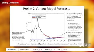 COVID-19 models show decline in pandemic