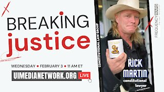 Breaking Justice | with Constitutional Civil Right Attorney
