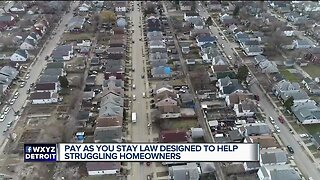New 'Pay As You Stay' law will provide relief for struggling Detroit homeowners