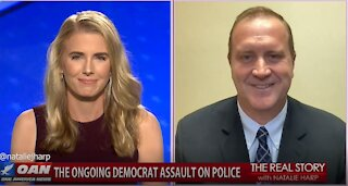 The Real Story - OAN Dems Defunding Police with Eric Schmitt