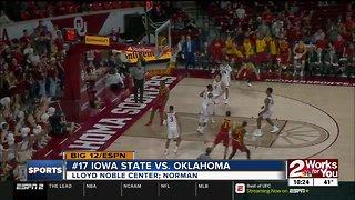 Oklahoma falls to #17 Iowa State, 75-74