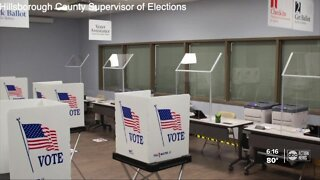 Answering questions about early voting in Florida