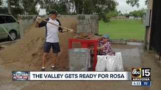 Valley residents preparing for Rosa