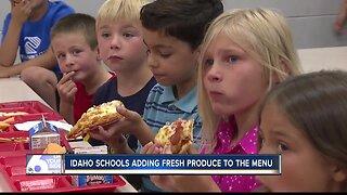 Idaho schools adding local, fresh produce to the menu