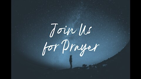 5 Day Challenge Update and Prayer Time