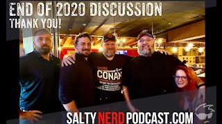 The Salty Nerd Podcast: 2020 Year In Review