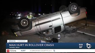 Driver falls asleep behind wheel, crashes truck