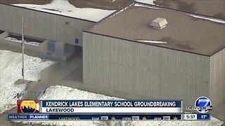 Kendrik Lake Elementary School groundbreaking