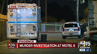 Murder investigation at Motel 6
