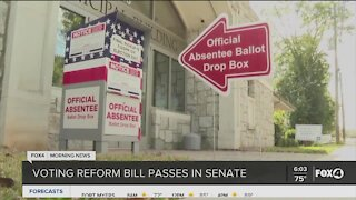 Voting changes if Governor DeSantis signs new bill