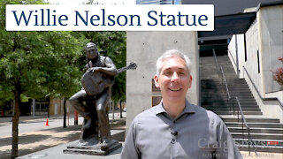 Discover Austin: Willie Nelson Statue (Episode 5)