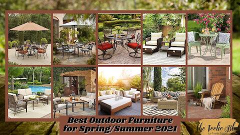 The Teelie Blog | Best Outdoor Furniture for Spring/Summer 2021 | Teelie Turner