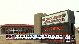 Oak Grove student posts 'alarming' message