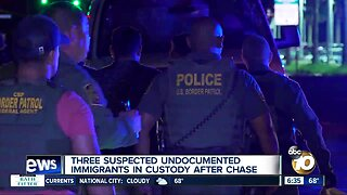 Suspected undocumented immigrants captured after South Bay chase
