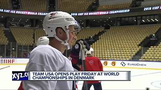 Dylan Larkin eager to remove bad taste from his mouth at World Championships