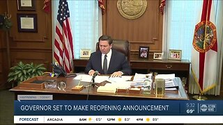 DeSantis to make announcement on safer-at-order Wednesday